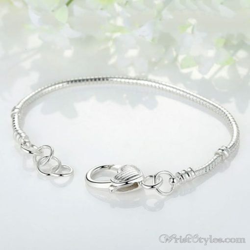 Locked Heart Charm Bracelet BA419574CB 2