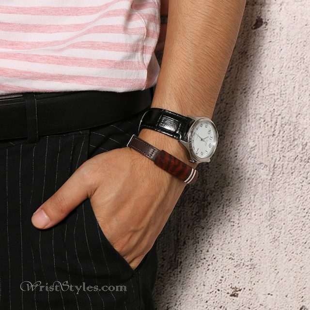 Rosewood Genuine Leather Bracelet