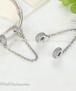 Sparkling Safety Chain BA565515SC 4