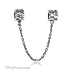 Sterling Silver Safety Chain BA394318SC
