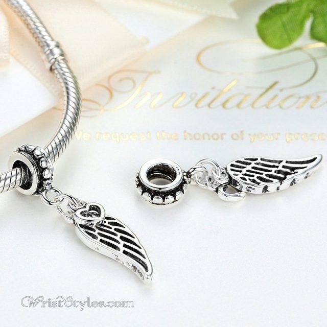 Winged heart pendant ba882439bp wrist styles winged heart pendant ba882439bp 2 aloadofball Gallery