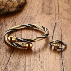 Lux Bangle and Ring Set VN662845BS