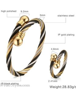 Lux Bangle and Ring Set VN662845BS 6