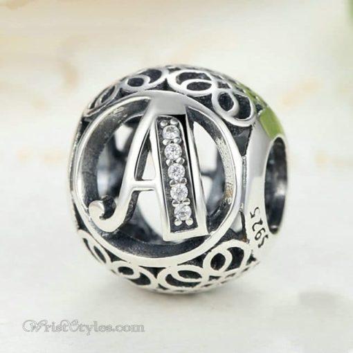 Alphabet Bracelet Charms WO009128BC 1