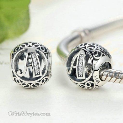 Alphabet Bracelet Charms WO009128BC 2