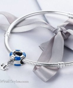Anchored Life Buoy Bracelet Charm BA610676BC 2