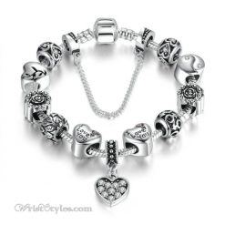 I Love You Charm Bracelet WO948202CB
