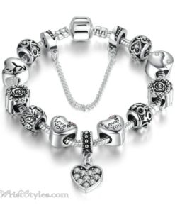 I Love You Charm Bracelet WO948202CB