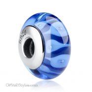 Murano Glass Bead Bracelet Charm 1