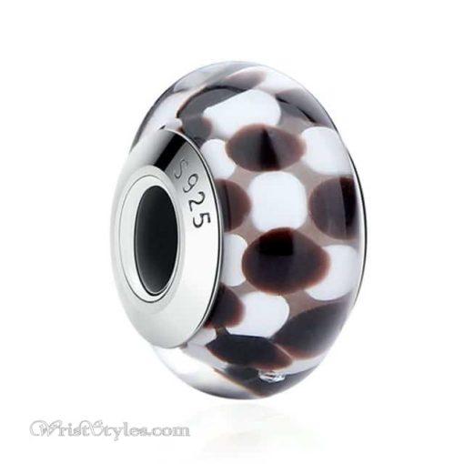 Murano Glass Bead Bracelet Charm 12