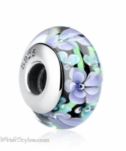 Murano Glass Bead Bracelet Charm 26