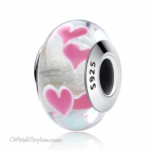 Murano Glass Bead Bracelet Charm 6
