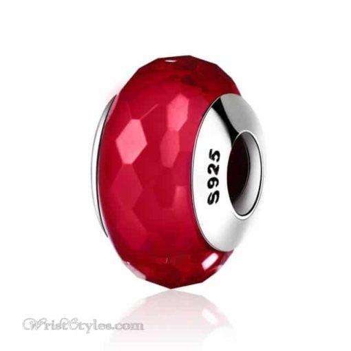 Murano Glass Bead Bracelet Charm 7