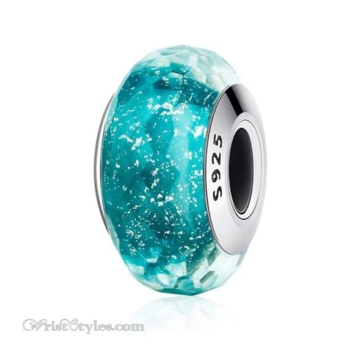 Murano Glass Bead Bracelet Charm 9