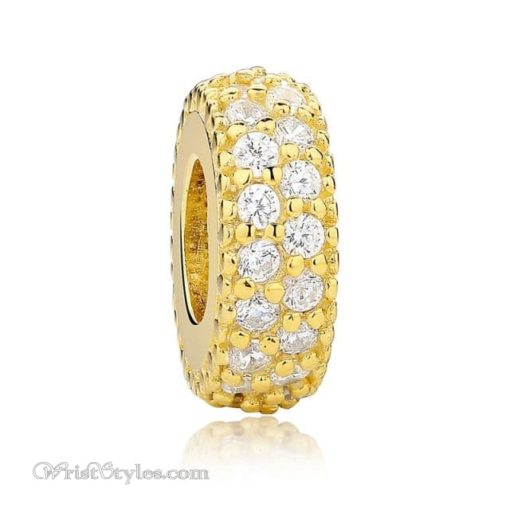 Sparkling Charm Bracelet Spacer WO601749BS 10