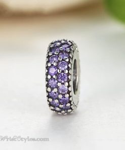 Sparkling Charm Bracelet Spacer WO601749BS 4