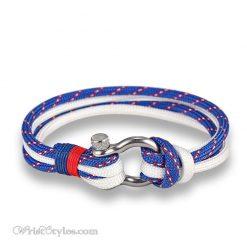 Quad Paracord Shackle Bracelet MK033832CB 4