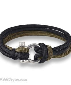 Quad Paracord Shackle Bracelet MK033832CB 5