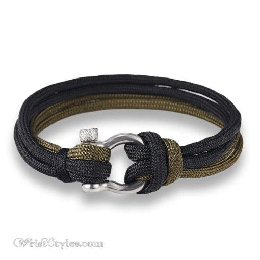 Quad Paracord Shackle Bracelet MK033832CB 5